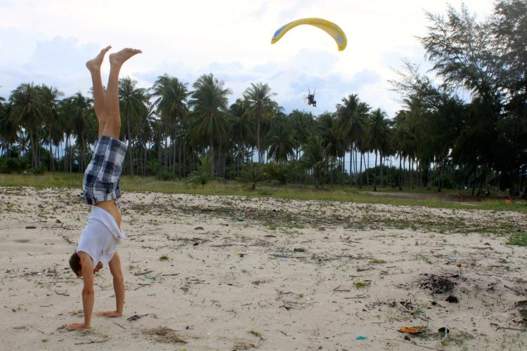 L'activité favorite de Kilian :)