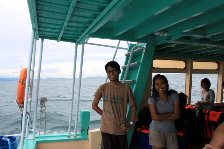 Ain et Wardi, les sourires d'Indonésie!