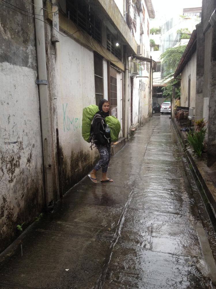 Saison des pluies oblige...