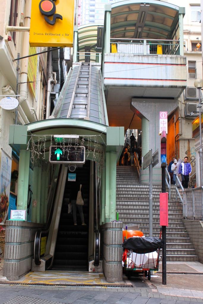 Si vous en avez assez de marcher, prenez l'Escalator!