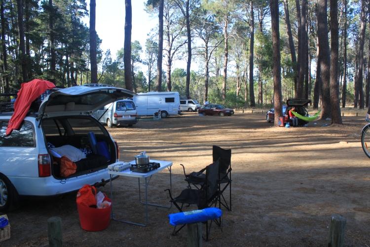 Notre premier campement