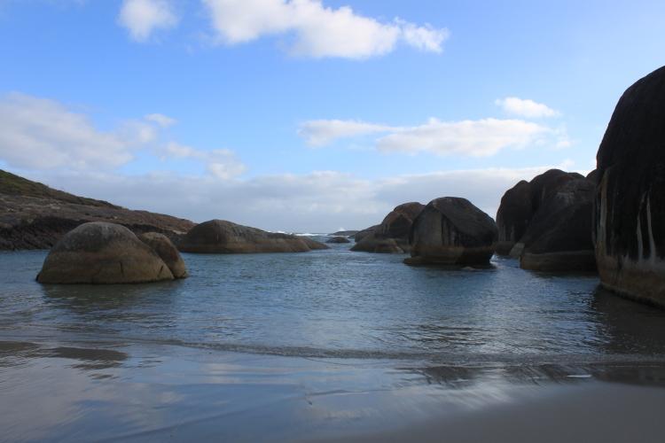 Elephant's rocks, splendid