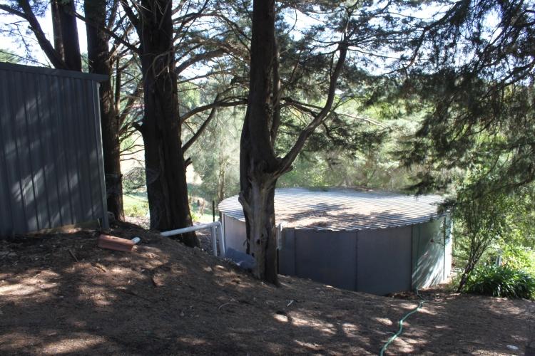 Le réservoir d'eau