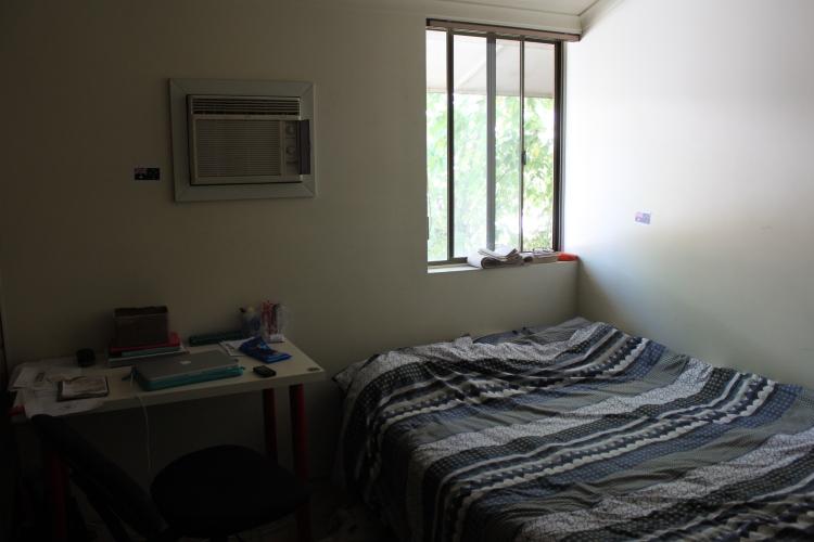 Notre lit!