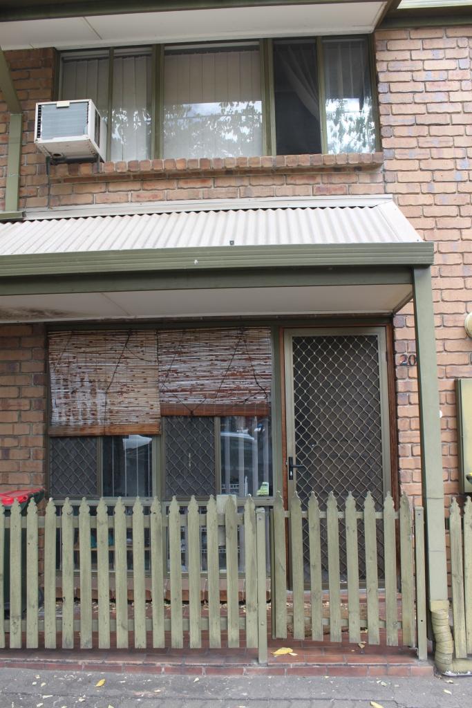 La façade extérieure, ça paie pas de mine...